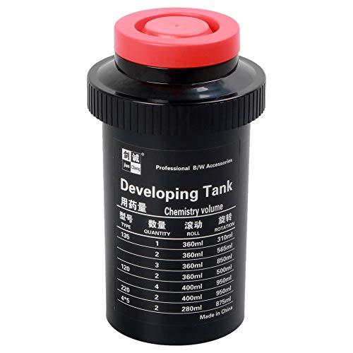フィルム現像タンク 3 スパイラル 調節可能な 120 127 135 B&Wネガティブフィルム暗室処理