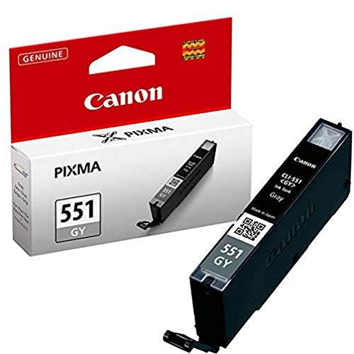 Canon CLI-551 Cartuccia Originale Getto d'Inchiostro, 1 Pezzo, Grigio