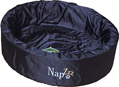 hondenmand waterproof rond zwart 70cm