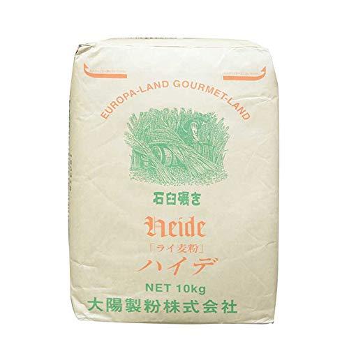 【業務用】太陽製粉 石臼挽き ライ麦粉 ハイデ 10kg