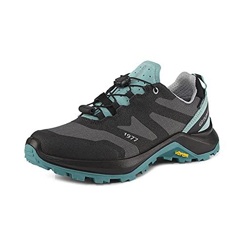 Grisport KRUIS,Damen,Frauen,Trekkingschuhe,Trail-Laufschuhe,Trailrunning-Schuhe,wasserabweisend,Schnellschnürung,Türkis,EU 39
