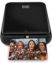 KODAK Step Wireless Mobile Photo Mini Printer (Black) Compatible w/ iOS & Android, NFC & Bluetooth Devices