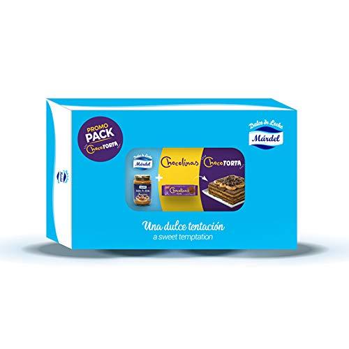 Pack Chocotorta- 4 ud Chocolinas + 1ud Dulce de leche Mardel Pastelero 450g