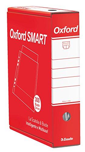 ESSELTE OXFORD SMART - 6 x 50 buste DELUXE lucida - 391098500
