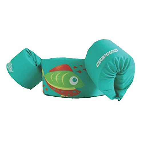 Check Out This Stearns Original Puddle Jumper Kids Life Jacket | Life Vest for Children, Green Fish