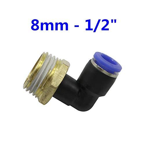 Stark und robust Pneumatischer Luftrohrverbinder 10 mm 8 mm 4 mm 6 mm 12 mm...