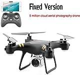 Drone avec caméra 1080p HD, caméscope GPS 1080P HD WiFi Drone 2.4Ghz Télécommande avec caméra Grand Angle à Fonction Ajustable
