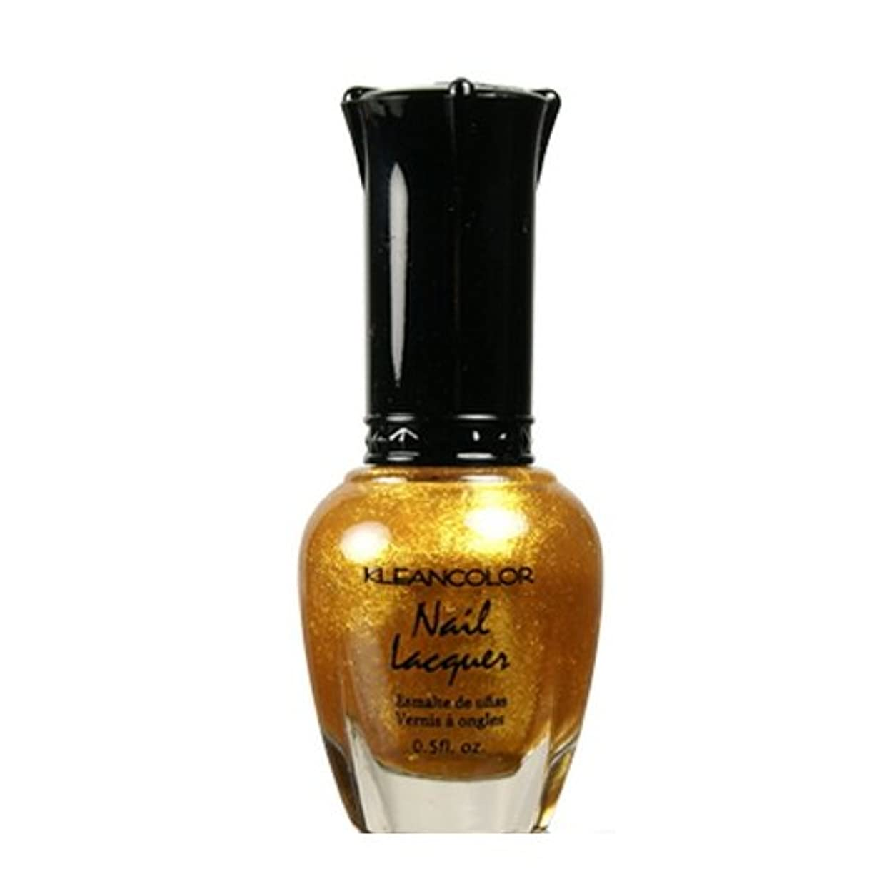 海外褐色許可するKLEANCOLOR Nail Lacquer 4 - Top of the World (並行輸入品)