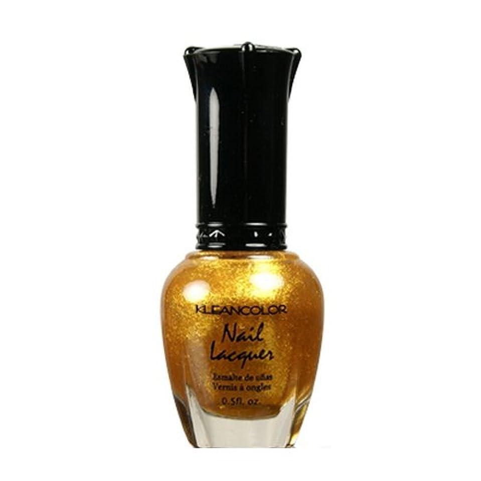 獣ファイル高尚な(6 Pack) KLEANCOLOR Nail Lacquer 4 - Top of the World (並行輸入品)