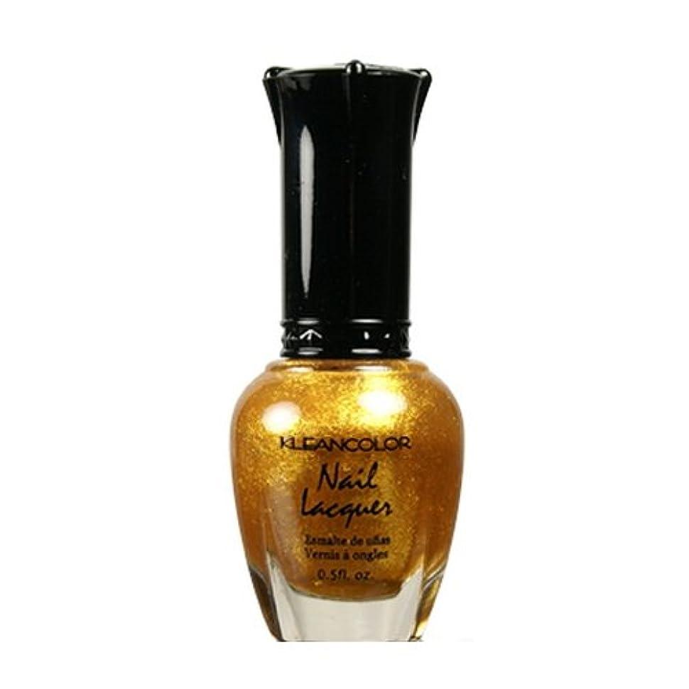 ヒューマニスティックそして現像KLEANCOLOR Nail Lacquer 4 - Top of the World (並行輸入品)