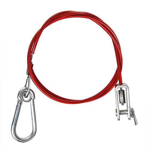 ProPlus 341303 Brems- und Abreißseil Abreisseil 100cm / 1m mit Gabelkopf für Anhänger