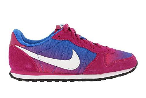 Nike Wmns Genicco Print, Zapatillas Mujer, Fucsia Azul Blanco, 36 1/2