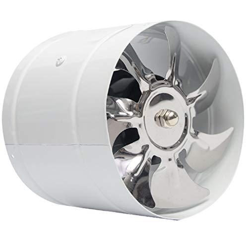 Ventilación Extractor 150 mm Tubo redondo Ventilador de escape Ventilador de humo de cocina Potente baño Silencio Bajo consumo de energía Ventilación fuerte (Size : A)