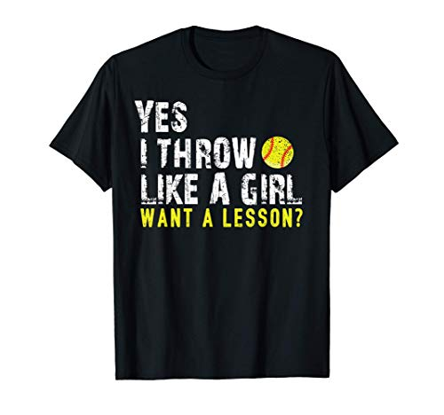 Softball Shirts For Girls, Softball Tshirts For Women T-Shirt
