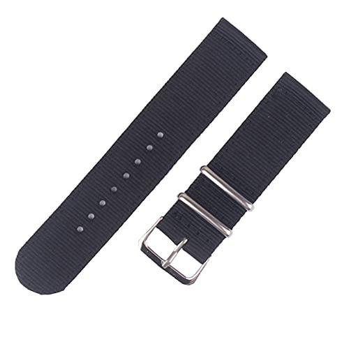 LIANYG Correa De Reloj 20mm 22mm Reloj Strapwatch 46mm 42mm Banda de Nylon 493 (Band Color : 13, Band Width : 22mm)