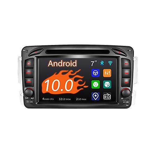 Amaseaudio Android 10 Autoradio, 2 Din für Benz W168 W203 W209, 7