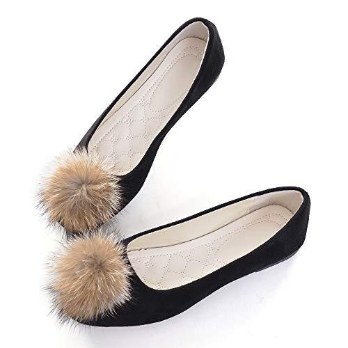 Top 10 best selling list for black flat pom pom shoes