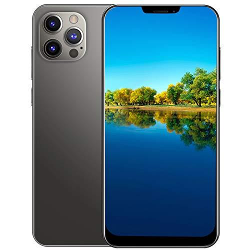 Gaeirt Teléfono Inteligente De 6.26 Pulgadas, Pantalla HD, Dual Sim, Modo De Espera Prolongado, 1G Ram + 8G, Cámara Dual De 2 Millones De Píxeles, Alta Frecuencia De Actualización (Gris)(EU)