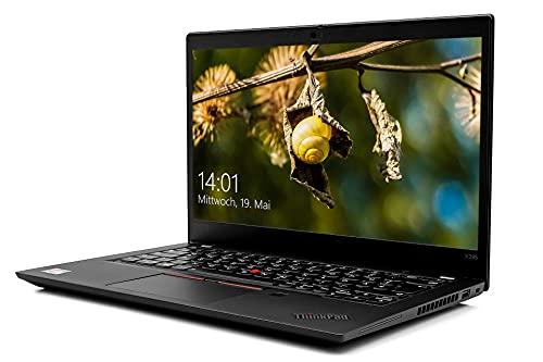 Lenovo ThinkPad X395 Notebook, Ryzen 7 3700U, 16GB RAM, 512GB SSD, 13,3 Zoll Business Laptop mit Fingerabdrucksensor Bluetooth HDMI Full HD WideView Touch, Windows 10 Pro, 14,5 Stunden Akku- schwarz