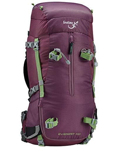 Freetime Sacs à Dos 40L Violet pour Trekking et randonnée - Everest 40 -Sac Femme