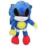 Super Sonic Mouse, Super Sonic Tals, muñeco Nake, muñeco de juguete, erizo sonic de felpa azul, llav...