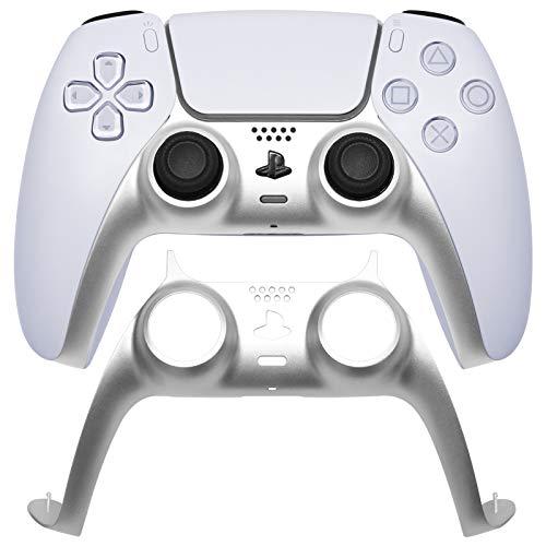 VICKSONGS Tira Decorativa de Agarre para Juegos PS5 [Color metálico, Ajuste 1:...