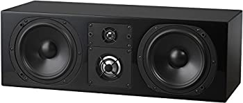NHT C Series C LCR Premium Home Theater 3-Way Center Channel Speaker - Clean Hi-Res Audio | Sealed Box | Aluminum Drivers | Front Left Front Right or Center | Single High Gloss Black