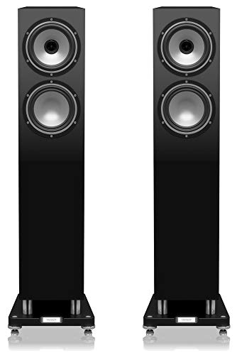 Tannoy Revolution XT6F Lautsprecher schwarz glänzend