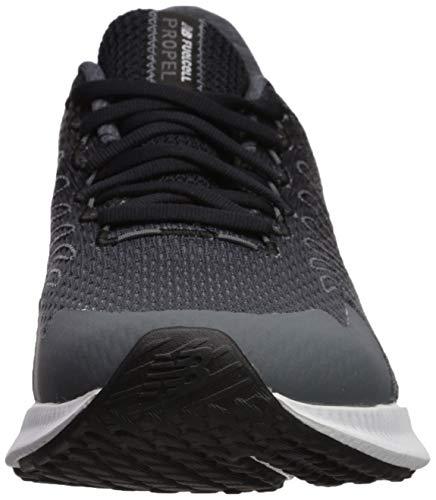 New Balance Men's FuelCell Propel Running Shoes, Black (Black/Lead Black/Lead), 7 UK