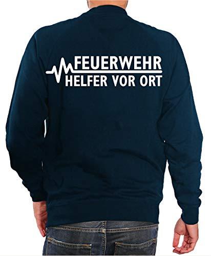 FEUER1 - Sweat-Shirt - Homme Bleu Bleu - Bleu - XL