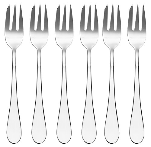 Viners Select 18/0 Pastry Fork Gift Box, stainless_steel, Silver, 2.5 x 20 x 23.1 cm