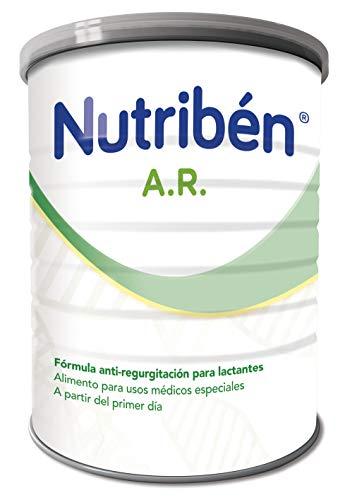 Nutribén AR 1 Leche en polvo AntiRegurgitación para bebés- de 0 a 6 meses- 1 unidad 800g