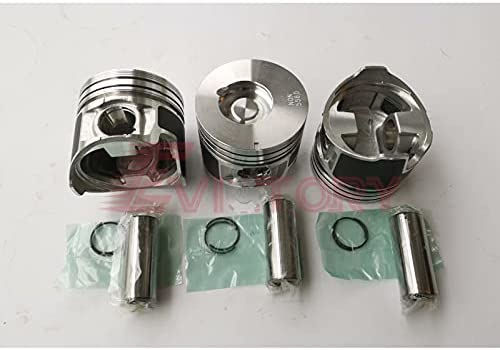 For ISUZU oversized Las Vegas Mall 3LD2 piston ring set Selling and selling +0.50mm