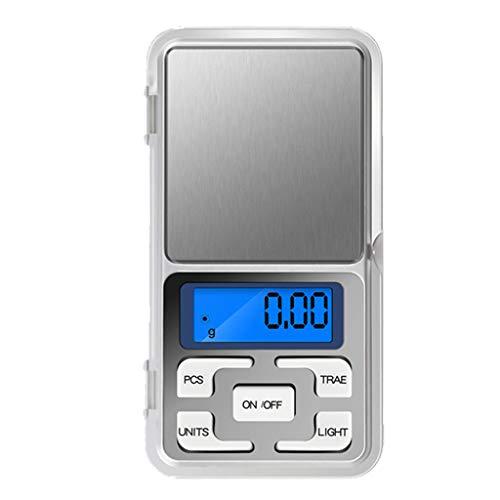 freneci Báscula Digital Báscula De Joyería Báscula Electrónica De - 500g-0,1g