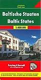 Países Bálticos, Lituania, Letonia, Estonia, mapa de cerreteras. Escala 1:400.000. Freytag & Berndt.: Wegenkaart 1:400 000: AK 8101 (Auto karte)