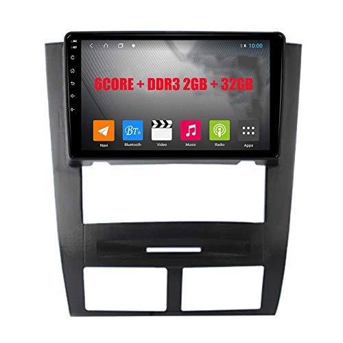 Autoradio Navigatore Per SSANGYONG Rexton 2002-2006 Android 9.0 Unità principale per auto Navigazione GPS 4x50w Amplificazione di potenza Lettore multimediale stereo con display Rds Split Screen, S1