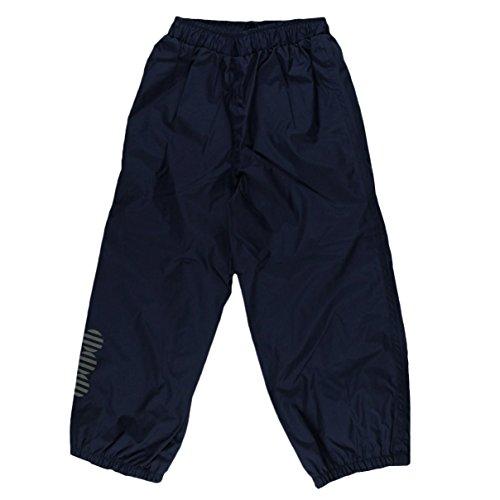 Minymo Jungen Regenhose Basic 23-Rain Pants-Solid, Blau (Dunkles Marineblau), 74