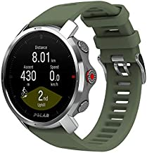 POLAR Grit X - Rugged Multisport GPS Smart Watch - Ultra-Long Battery Life, Wrist-Based Heart Rate, Military-Level Durability, Sleep and Recovery, Navigation - Trail Running, Mountain Biking