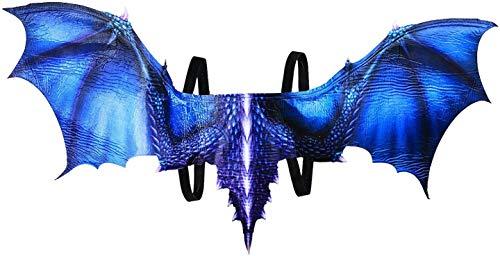 Forum Novelties Foam Wings, Blue Dragon, One Size