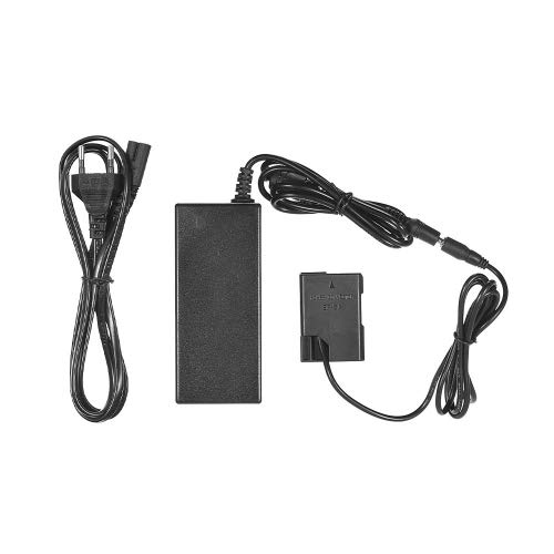 Katigan EP-5A Adaptador de Corriente Alterna Acoplador de Cargador de CáMara Reemplazar por EN-EL14 / para D5100 D5200 D5300 D5500 D5600 D3100 D3200 D3300,Etc (Enchufe de la EU)