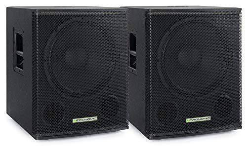 Pronomic SA-15 SUB Aktiv Subwoofer 2x Set - 15