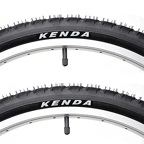 LDFANG 24/26 × 1,95, 26 × 2,1 pneumatici 2 pezzi per Bici fuoristrada da Strada MTB Fango Sporco