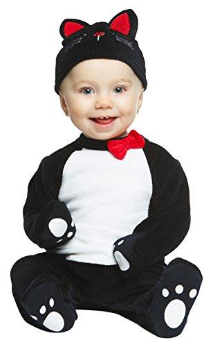 My Other Me Me-204962 Disfraz de gatito, color negro, 1-2 años (Viving Costumes 204962)