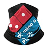 Windproof Neck Gaiter Face Mask Domino'S Pizza Anti Dust Pollution Bandana Headwear Scarf For Outdoor