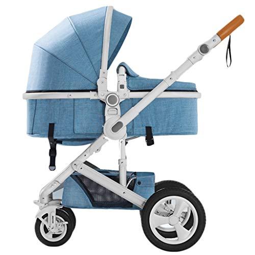 Gute Qualität Kinderwagen Buggys Hohe Landschaft Kinderwagen können Zwei-Wege-Allrad-Stoßdämpfer Kinderwagen sitzen liegend Faltbare Leichtgewichtler Baby Standardkinderwagen