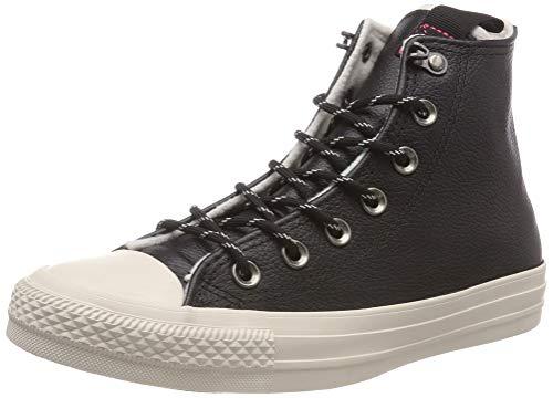 Converse Damen Chuck Taylor All Star Hohe Sneaker, Schwarz (Black/Driftwood/Driftwood 001), 40 EU