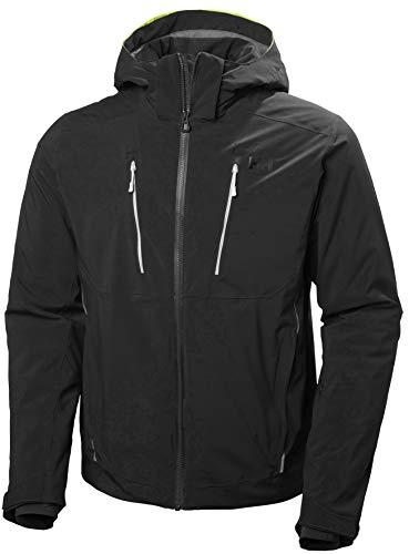 Helly-Hansen Men's Alpha 3.0 Waterproof Insulated Ski Jacket, Black, Medium