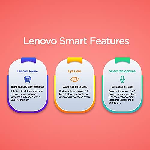 Lenovo IdeaPad Slim 3 2021 Intel Core i3 11th Gen 14 FHD IPS Thin & Light Laptop (8GB/256GB SSD/Windows 10/MS Office/Backlit Keyboard/Fingerprint Reader/2 Year Warranty/Arctic Grey/1.41kg), 82H700SVIN