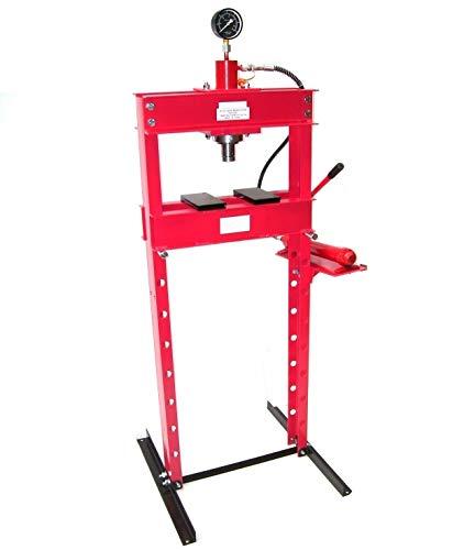 Prensa hidráulica de taller 06188 AWZ (20 toneladas)