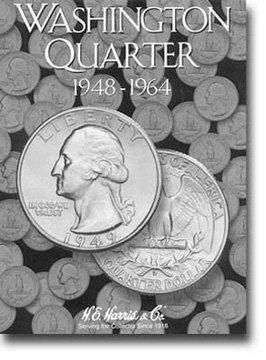 Harris Coin Folder – Washington Quarter #2 Folder 1948-1964...